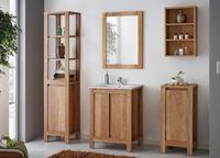 Classic Oak 60, koupelnová sestava dub románský + umyvadlo