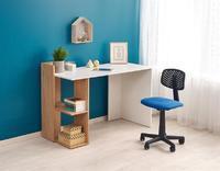Fino, psací stůl, dub zlatý/bílá
