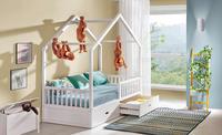 Viki, postel ve tvaru domu