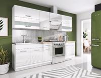 White, kuchyňská linka 240 cm