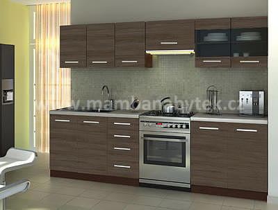 Amanda 1 - 260, kuchyňská linka 260 cm - 1