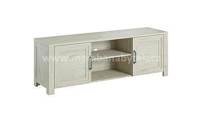 Aveiro, televizní stolek, ořech světlý