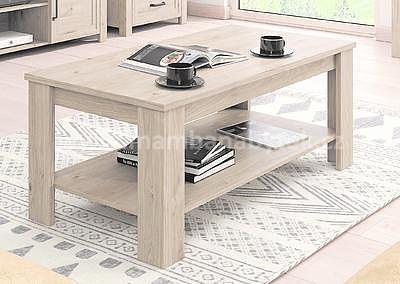 Aveiro, konferenční stolek ST, ořech světlý - 1