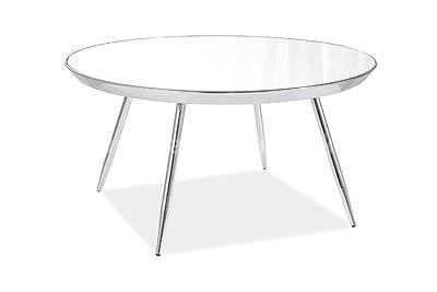 Bora B, konferenční stolek zrcadlo/chrom - 1