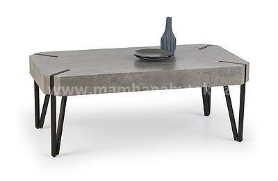 Emily, konferenční stolek, beton/černý