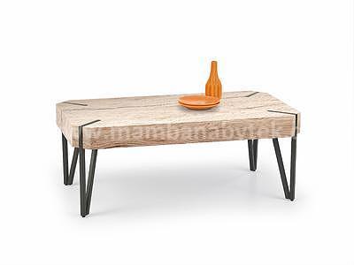 Emily, konferenční stolek, dub san remo/černý