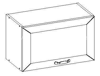 Romance, kuchyňská skříňka horní FE-03/G40