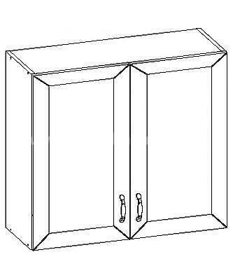 Romance, kuchyňská skříňka horní FE-05/G80