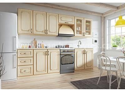 Romance, kuchyňská sestava, 260 cm - 1