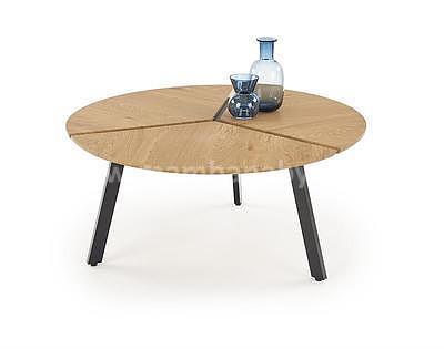 Luana, konferenční stolek, dub zlatý/černý