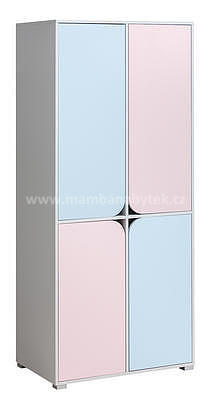 Domino M01, šatní skříň  - 1