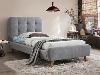 Tiffany, šedá, 90x200 cm
