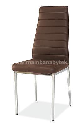 židle H261, hnědá