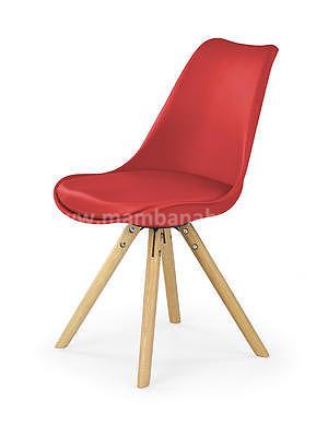 židle K201, červená - 1