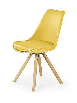 židle K201, žlutá - 1
