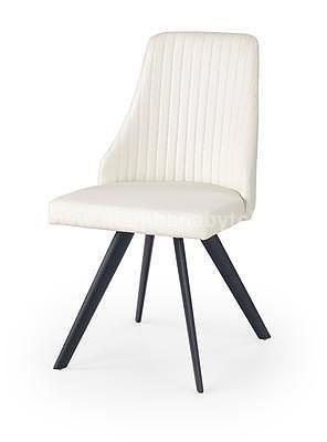 židle K206, černá/bílá - 1