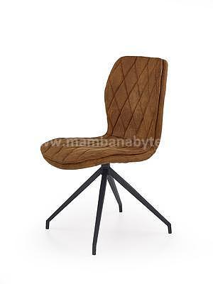 židle K237, hnědá