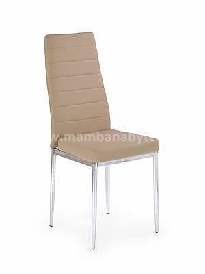 židle K70C-NEW, tmavá krémová