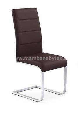 židle K85, hnědá