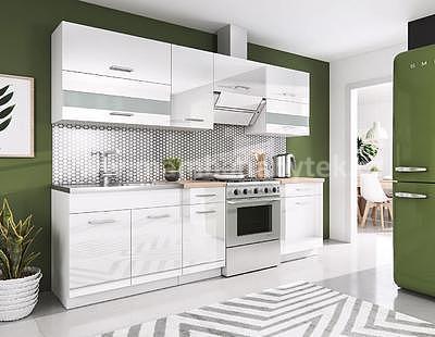 White, kuchyňská linka 240 cm - 1