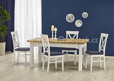 Leonardo/Bergamo, jídelní set stůl+4 židle - 1