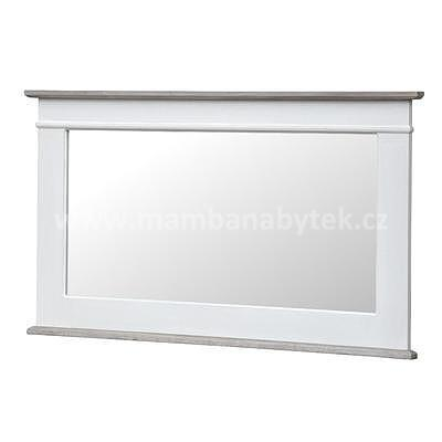 Rimini White 54W, zrcadlo bílá/hnědá