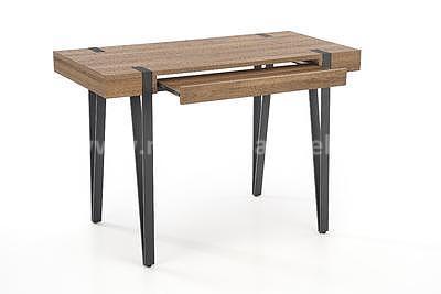 Boris, psací stůl, ořech medový - 2
