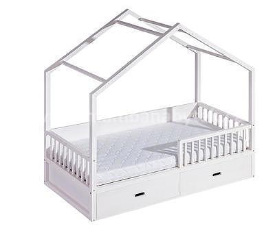Viki, postel ve tvaru domu - 2