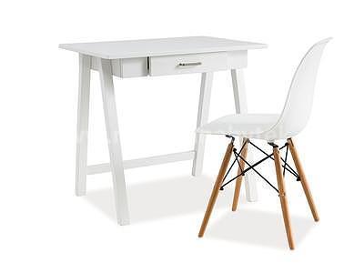 židle Enzo, bílá - 2