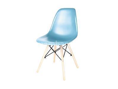 židle Enzo, modrá - 2