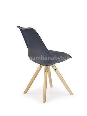 židle K201, černá - 2
