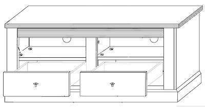 Lima LM60, televizní stolek - 2