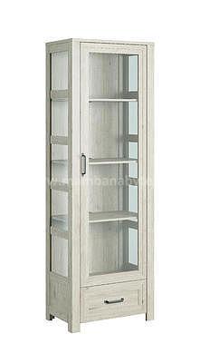 Aveiro, vitrína W1D1S, ořech světlý - 3
