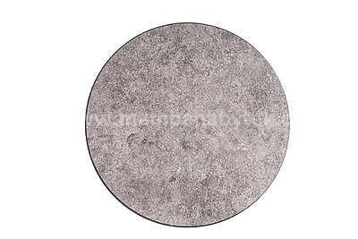 Demeter, konferenční stolek beton/černá - 3