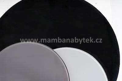 Artemida, konferenční stolek šedá/černá - 4