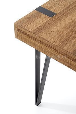 Boris, psací stůl, ořech medový - 4