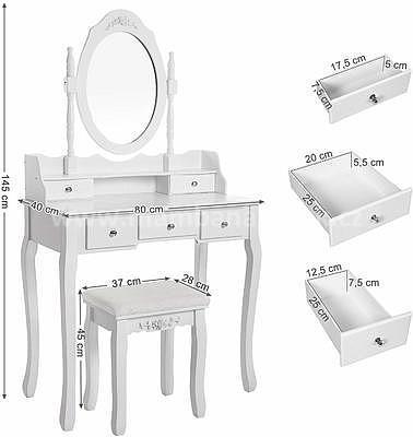 Karmen, toaletní stolek - 4
