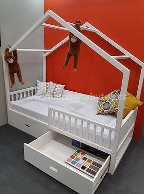 Viki, postel ve tvaru domu - 4