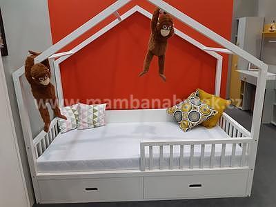 Viki, postel ve tvaru domu - 5