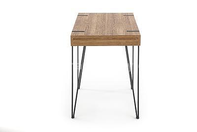 Boris, psací stůl, ořech medový - 7