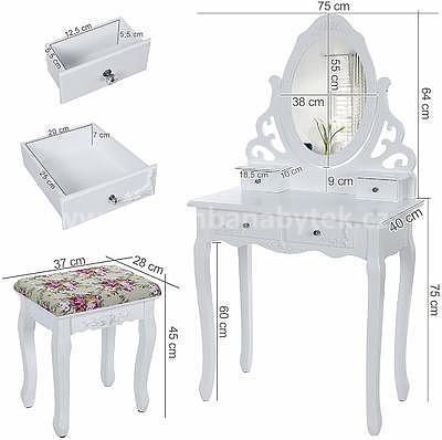 Beatrice, toaletní stolek - 7